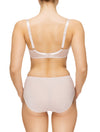 Lauma, Nude Underwired Padded Bra, On Model Back, 08C30