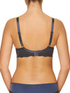 Lauma, Blue Underwired Soft-Cup Bra, On Model Back, 08H20