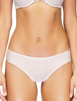 Lauma, Nude Micro Low Waist Panties, On Model Front, 10B57