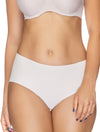 Lauma, Nude Seamless Mid Waist Panties, On Model Front, 14B50