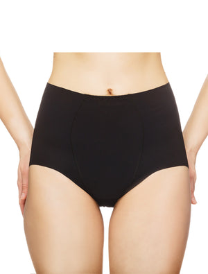 Lauma, Back Seamless High Waist Panties, On Model Front, 14B52