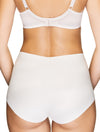 Lauma, Nude Seamless High Waist Panties, On Model Back, 14B52