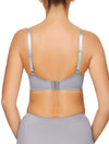 Lauma, Grey Underwired Soft-cup Bra, On Model Back, 17H20