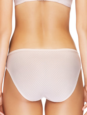 Lauma, Nude Mid Waist Panties, On Model Back, 20F50