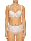Lauma, Nude Strapless Balconette Bra, On Model Front, 20H30