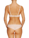 Lauma, Nude Plunge Moulded Push Up Lace Bra, On Model Back, 20H35