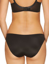 Lauma, Black Mid Waist Panties, On Model Back, 20H50