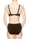 Lauma, Black Bikini Top, On Model Back, 21J20