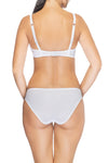 Lauma, White Micro Low Waist Panties, On Model Back, 10B57
