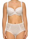 Lauma, Ivory Underwired Soft-cup Bra, On Model Front, 23H20