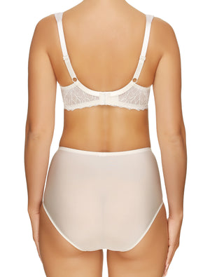 Lauma, Ivory High Waist Panties, On Model Back, 23H51