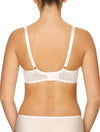 Lauma, Ivory Underwired Half-padded Bra, On Model Back, 23H40
