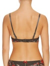 Lauma, Grey Push Up Bra, On Model Back, 27H10