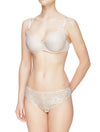 Lauma, Nude Lace Brazilian Briefs, On Model Front, 29C61