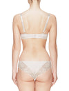 Lauma, Nude Underwired Molded Soft-cup Bra, On Model Back, 29C24