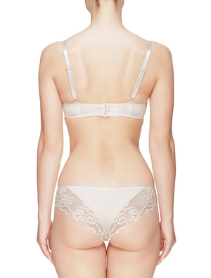 Lauma, Nude Lace Brazilian Briefs, On Model Back, 29C61