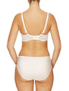 Lauma, Ivory Underwired Non-padded Bra, On Model Back, 30H20