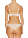 Lauma, Ivory Lace String Tanga, On Model Back, 30H60