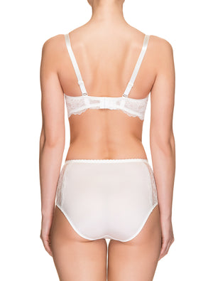 Lauma, Ivory High Waist Panties, On Model Back, 30H51