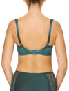 Lauma, Green Underwired Non-padded Bra, On Model Back, 31H20