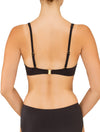 Lauma, Black Swimwear Bikini Top, On Model Back, 32F20