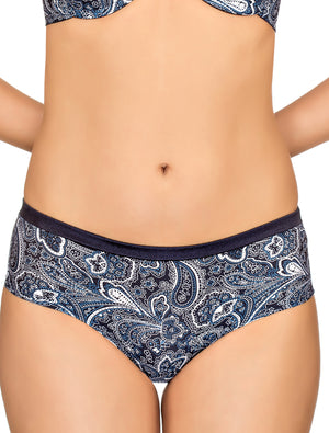Lauma, Blue Shorts Panties, On Model Front, 33F71