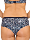 Lauma, Blue Shorts Panties, On Model Back, 33F71