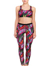 Lauma, Multicolour Sports Bra, On Model Front, 34F20