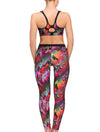 Lauma, Multicolour Sports Bra, On Model Back, 34F20