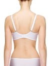 Lauma, White Underwired Bra, On Model Back, 34J20