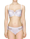 Lauma, White Underwired Bra, On Model Front, 34J20