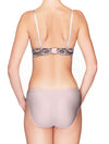 Lauma, Pink Mid Waist Panties, On Model Back, 35H52