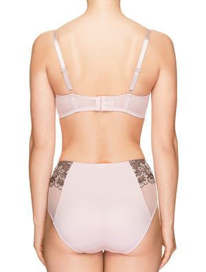 Lauma, Pink Half-padded Bra, On Model Back, 35H40