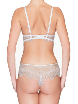Lauma, White Lace String Panties, On Model Back, 42H61