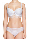 Lauma, White Mid Waist Panties, On Model Front, 42H50
