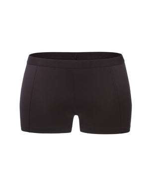 Lauma, Black Sports Shorts, On Model Front, 46D70