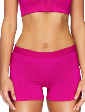 Lauma, Pink Sports Shorts, On Model Front, 46D70