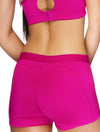 Lauma, Pink Sports Shorts, On Model Back, 46D70