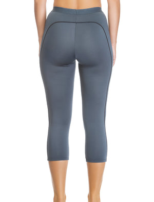 Lauma, Grey Sports Capri, On Model Back, 46D53