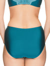 Lauma, Green High Waist Panties, On Model Back, 50H51