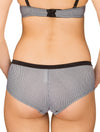 Lauma, Black Shorts Panties, On Model Back, 51G70