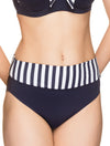 Lauma, Blue Swimwear Bikini Bottoms, On Model Front, 52H51