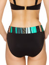 Lauma, Black Swimwear Bikini Bottoms, On Model Back, 75H51