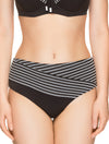 Lauma, Black Swimwear Bikini Bottom, On Model Front, 62H51