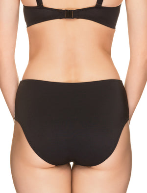 Lauma, Black Swimwear Bikini Bottom, On Model Back, 62H51
