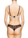 Lauma, Nude Push Up Bra, On Model Back, 64G10