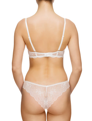 Lauma, Ivory Moulded Push Up Bra, On Model Back, 64G35