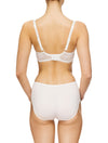 Lauma, Ivory Underwired Half-padded Bra, On Model Back, 64G40