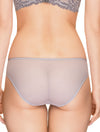 Lauma, Grey Mid Waist Panties, On Model Back, 64H50