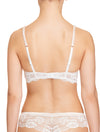 Lauma, Ivory Lace Push Up Bra, On Model Back, 65H35